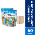 Purina DentaLife Large Dog Daily Dental Chews (2 30-count pouches)