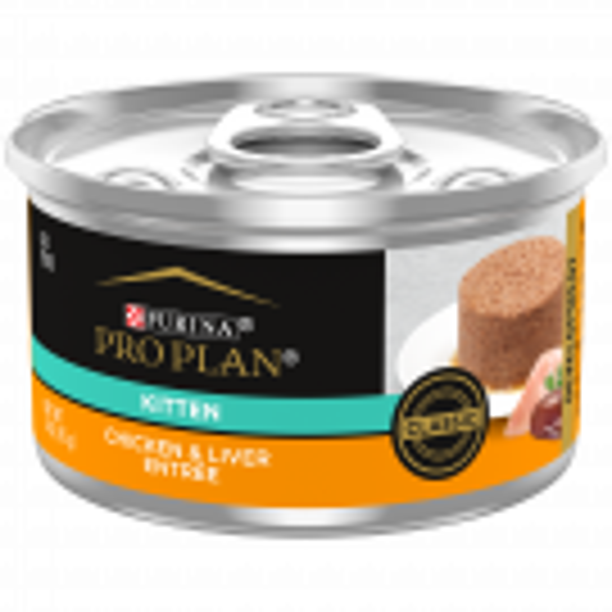 Purina Pro Plan Focus Kitten Chicken & Liver Entrée Classic Cat Food