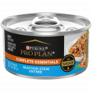 Purina Pro Plan Complete Essentials Adult Seafood Stew Entrée in Sauce Cat Food