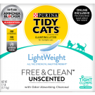 Tidy Cats LightWeight Clumping Cat Litter Free & Clean for Multiple Cats